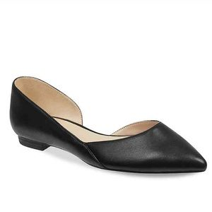 MARC FISHER Black Anny pointed toe Flat